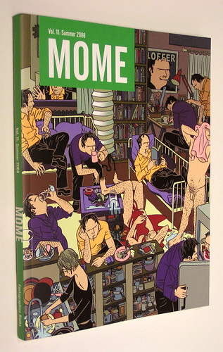 Mome Vol. 11: Summer 2008 - front cover by Killoffer