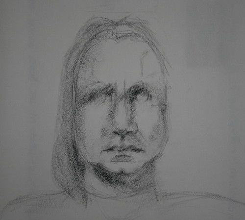 unfinished self portrait