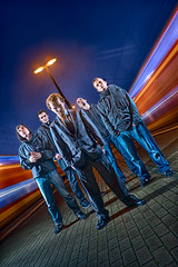 trains (vd.Bruck) Tags: blue sky people music berlin rot promotion rock composition photoshop germany deutschland rojo nikon europe leute outdoor expression band experiment patrick fast cologne wolken leipzig menschen portraiture alemania blau 2008 metall regen davehill boden d300 conceptualphotography strobist nitrolyt clevercreativecaptures vdbruck vandenbruck vonderbruck patrickvonderbruck amateurscameraidol