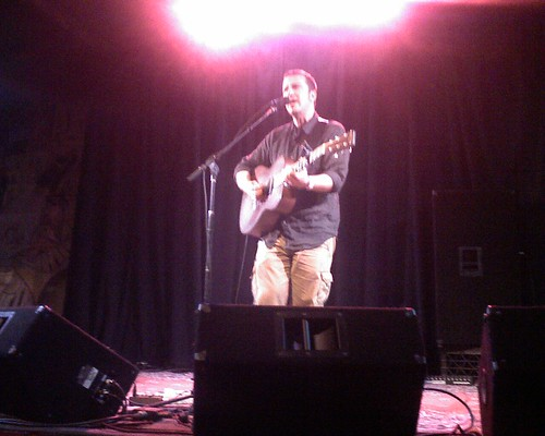 Peter Mulvey at Don Quixote's