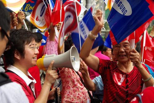 Olympic torch in Hong Kong - May 2, 2008