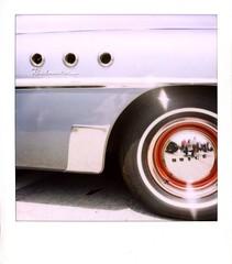 culvercarshow28 (fotonomous) Tags: classic cars vintage polaroid la losangeles buick antique kitsch historic nostalgia americana southerncalifornia roadmaster epson4490 polaroid600film polaroidslr680se lydiamarcus fotonomous curioustransport culvercitycarshow2008 polaroidcars httpfotonomousblogspotcom
