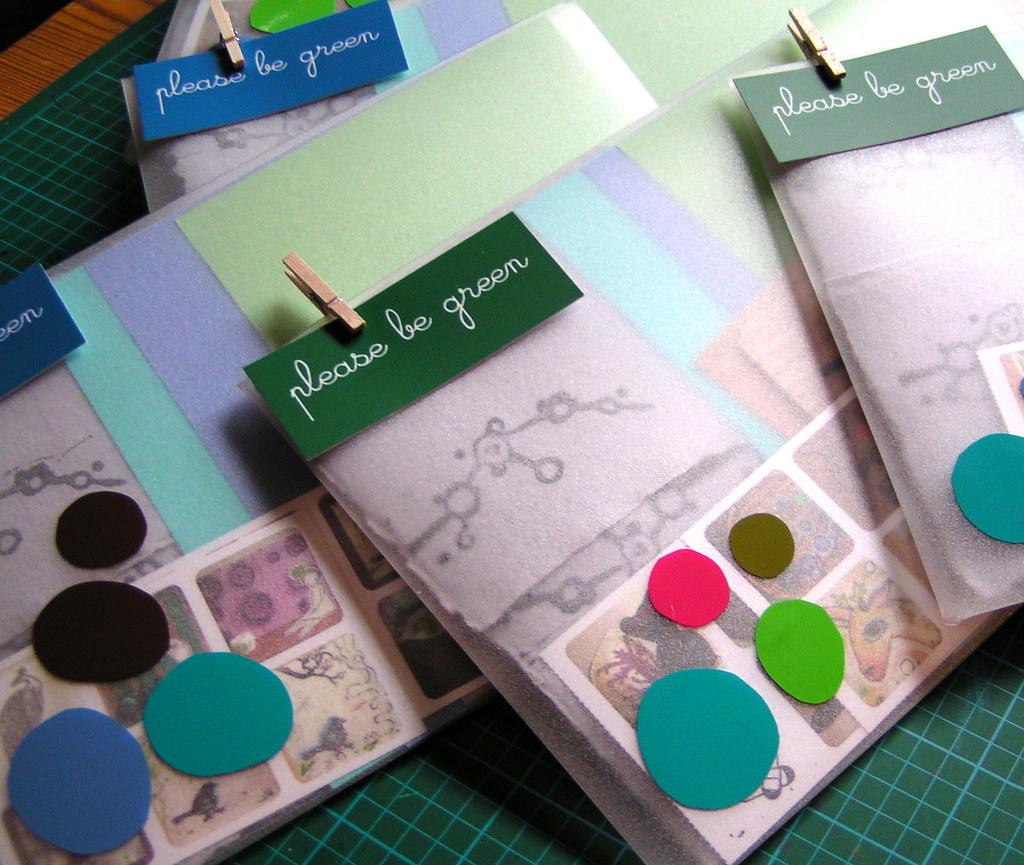 I heart mail - a paper sampling kit