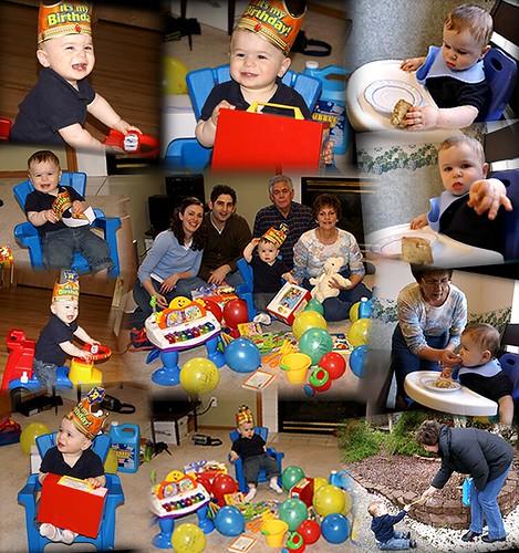 Birthday day collage