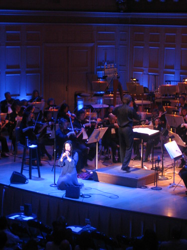 Natalie Merchant at the Boston Pops