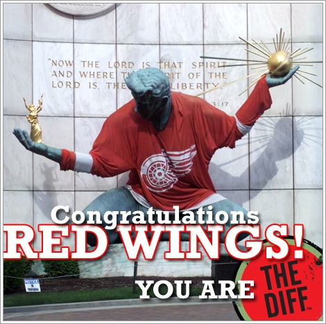 2008 Stanley Cup Champions - The Detroit Red Wings