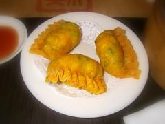 蘆筍明蝦餃