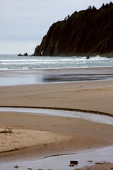 Manzanita #01 (wavesandwaterfalls) Tags: beach oregon canon sand scenic pacificocean oregoncoast canondslr rockformation minustide manzanitaoregon tillamookcountyoregon neahkahniebeach