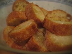 Soupe a l'oignon Y crouton