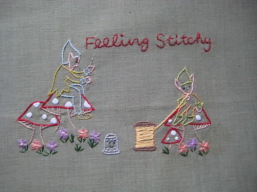 Feeling Stitchy Banner contest - sewing pixies