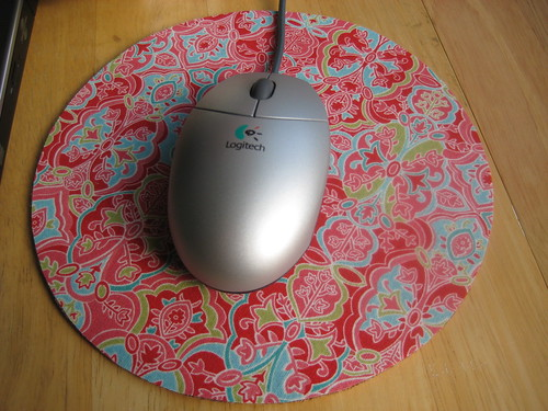 no sew mousepad