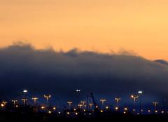 cloud_upon_you_in_colour (SheffieldStar) Tags: california cloud industry port oakland bank front baybridge brooding lamps upon portofoakland demonbats weatherpattern