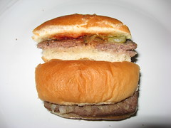 White Castle: Hamburger (sliced)
