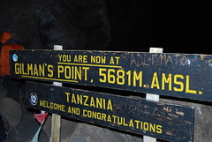 Mt. Kilimanjaro, Day 5: The Top of Africa