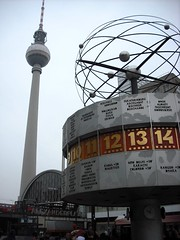 Fernsehturm and Alexanderplatz
