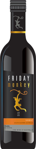 Friday Monkey Shiraz