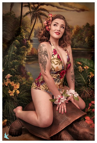 Hawaiian pin up preview