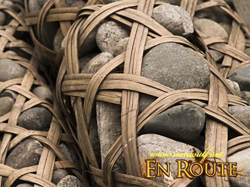 Dujiangyan Basket Full of Stones