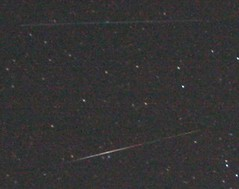 Meteor/satellite #1 (enhanced)