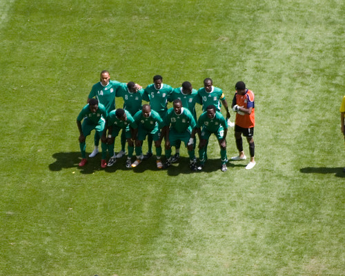 The Nigerian Football team- Nigeria vs Argentina - Football Gold ...