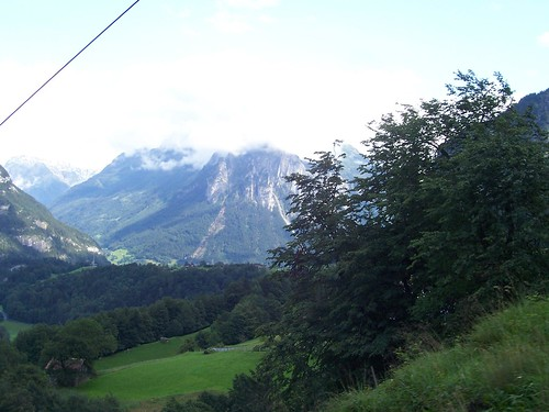 View from the Reichenbachfall-Bahn