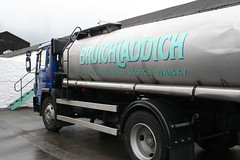Whisky lorry, Bruichladdich Distillery