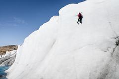 Greenland climbing (elosoenpersona) Tags: en ice wall pared climb glacier climbing greenland iced climber escalar glaciar crampon tierras hielo escalada helada escalador polares tcnico gronland groenlandia piolet crampones elosoenpersona thecnical