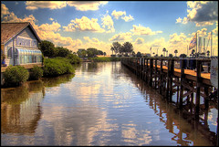 Riverside Cafe (tebographics) Tags: look postcard hdr cafes cloudscapes mywinners abigfave platinumphoto goldstaraward