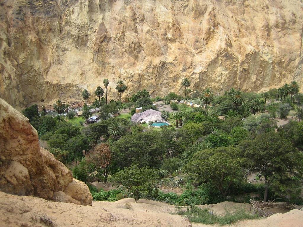 Sangalle Oasis, Colca Canyon, Peru