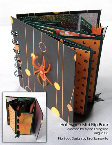Halloween Mini Flip Book
