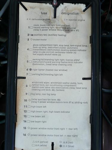 1979 Mercedes 450sl Fuse Box Mercedes Auto Wiring Diagram