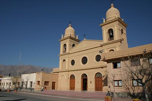 Main cathedral, Cafayate - Argentina.