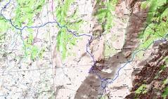 Carte Trek Basseta étape 4 (parcours Dominique Treillard en 07/2008)