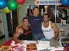 Carlo Masi & Me & Adam Champ a signing at