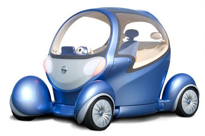 Twelfth futuristic car photo