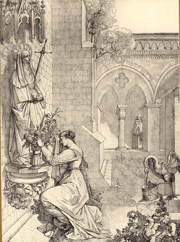 16-Gretchen rezando a la Mater Dolorosa