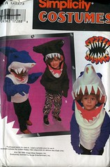 S9813 (sandritocat) Tags: street costumes girls boys uncut pattern sewing size simplicity sharks 38 9813