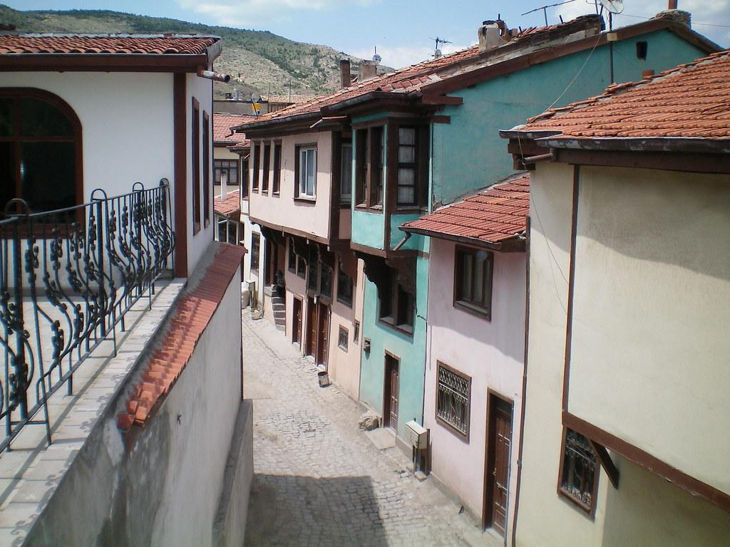 Tarihi evler Afyon