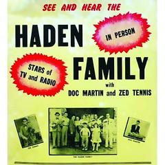 Haden poster