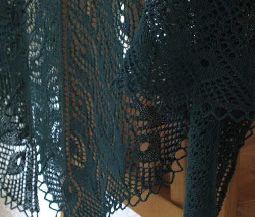 PF shawl hanging