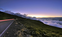 road to heaven (donjiva(away)) Tags: sunset cloud landscape hawaii maui haleakala kalahakuoverlook tokina1116mm nikond40d40x