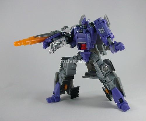Transformers Galvatron Classic Henkei - modo robot (by mdverde)