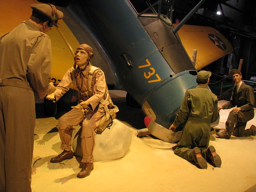 Air Force Museum, A Flight Mishap