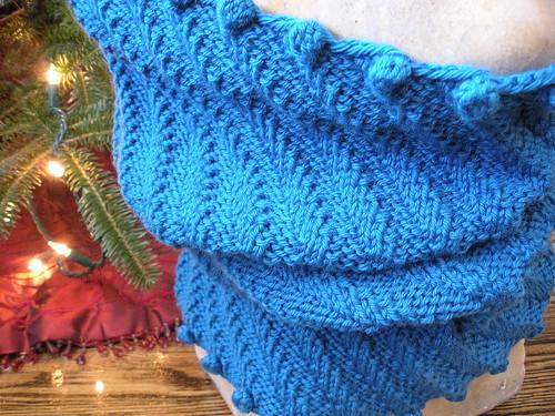 blue a cowl