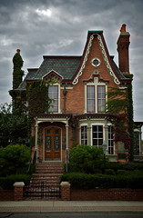 Baker House (themikepark) Tags: house brick michigan plymouth italianate latevictorian michpics