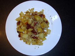 Kartoffeltern i ovnen