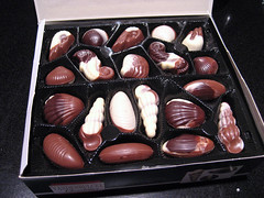 chocolates from page