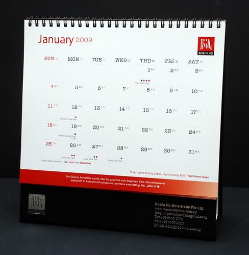 Trader's Calendar 2009 -2