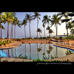 Kona Pool at the Hilton Waikoloa Village (j glenn montano 3) Tags: pool island hawaii big village district glenn hilton kona montano kohala waikoloa justiniano aplusphoto