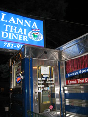 Lanna Thai Diner exterior